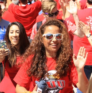 Southern Utah University leads in student enrollment for 2018 with a 7.69% increase over last year.