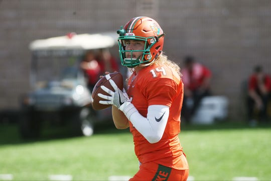 FAMU quarterback Ryan Stanley leads the Rattlers against Norfolk State.