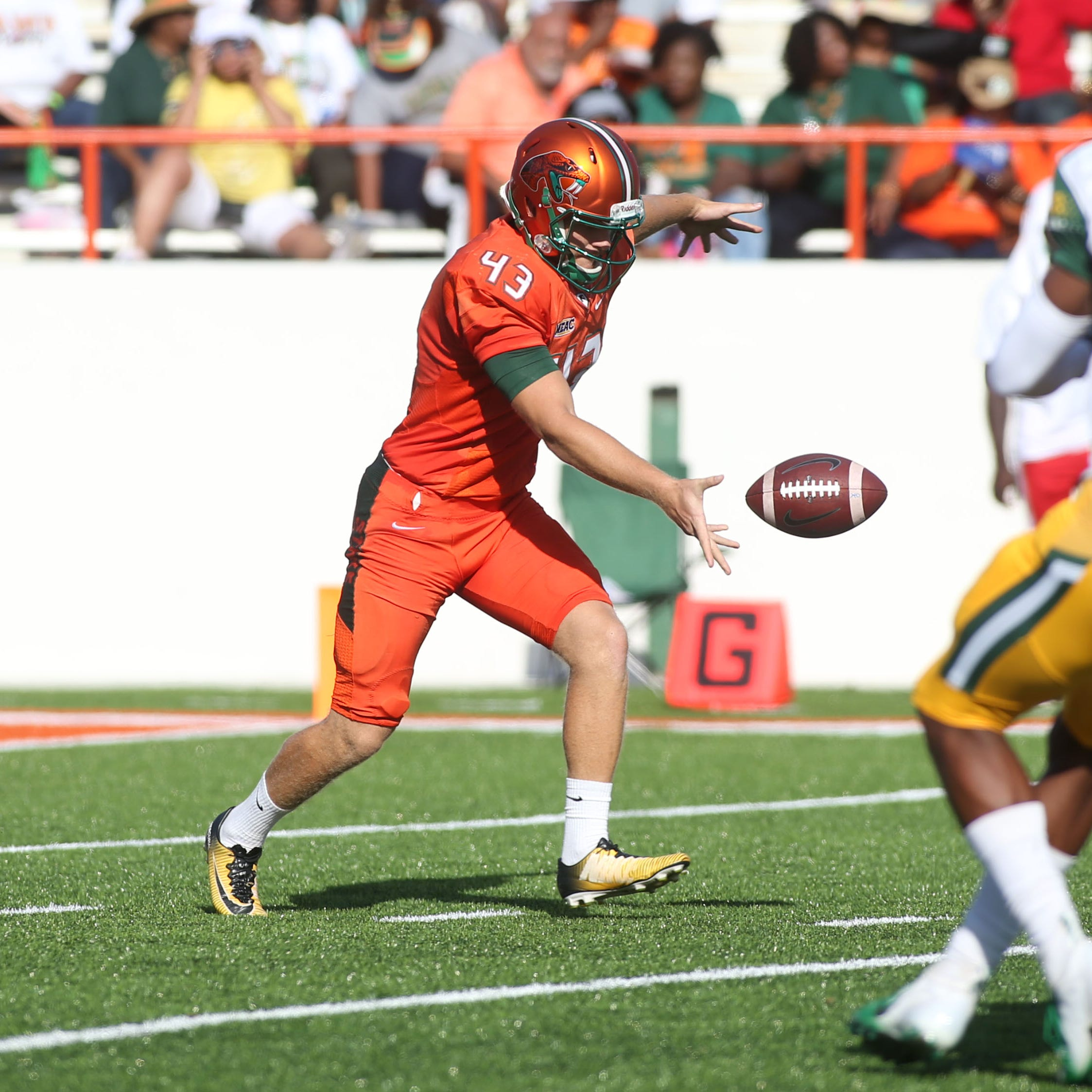 FAMU punter Chris Faddoul named AP All-American