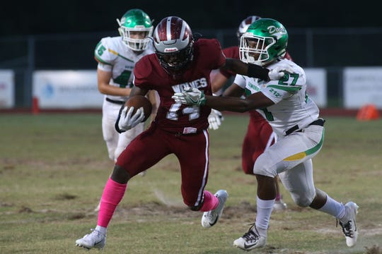 Chiles running back Chase Gillespie ran for 127 yards and a 53 yard touchdown in the Timberwolves' 20-7 win over Suwannee.