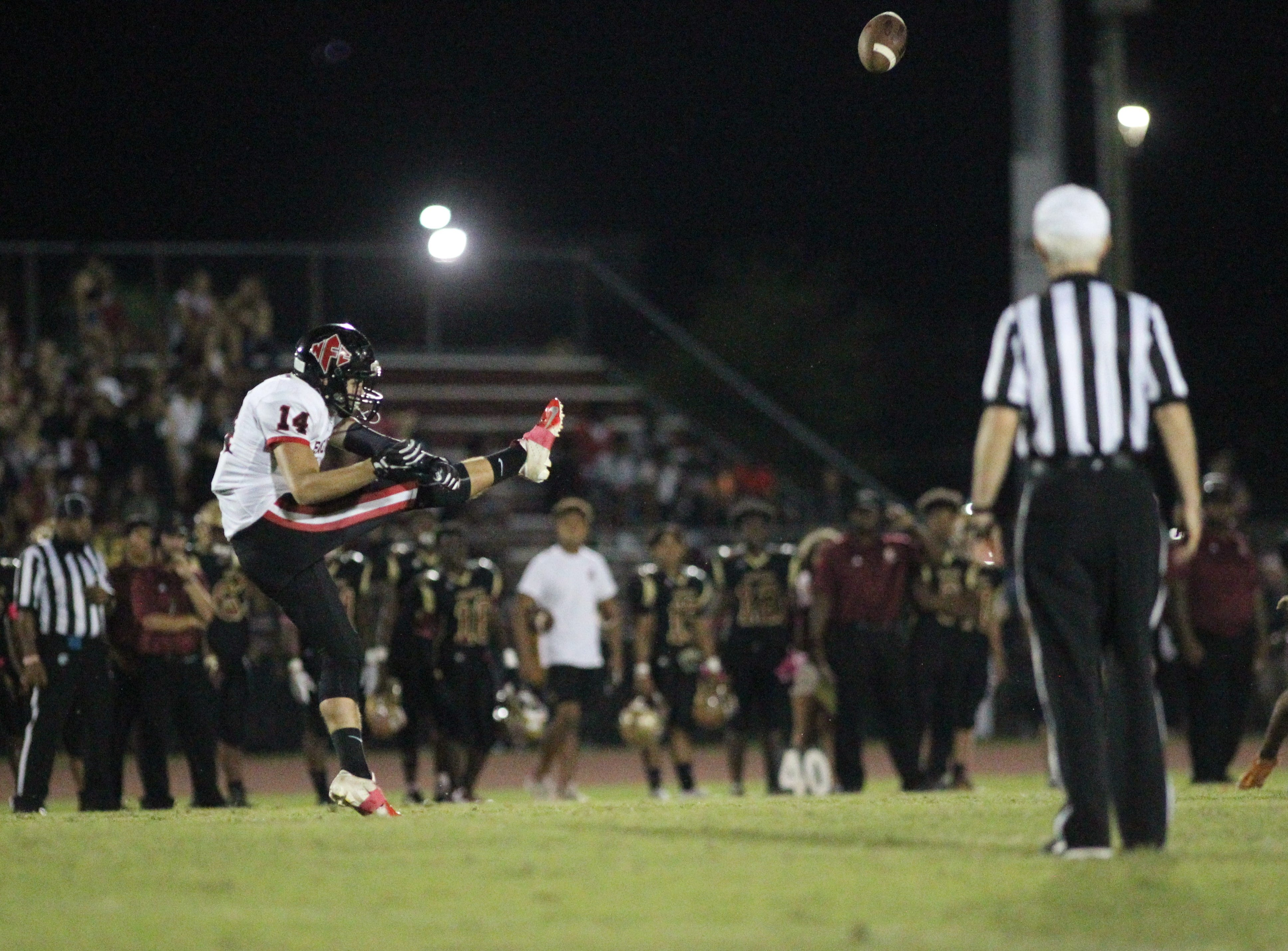 The first half of NFC at Florida High, high school football, Friday, Oct. 5, 2018.