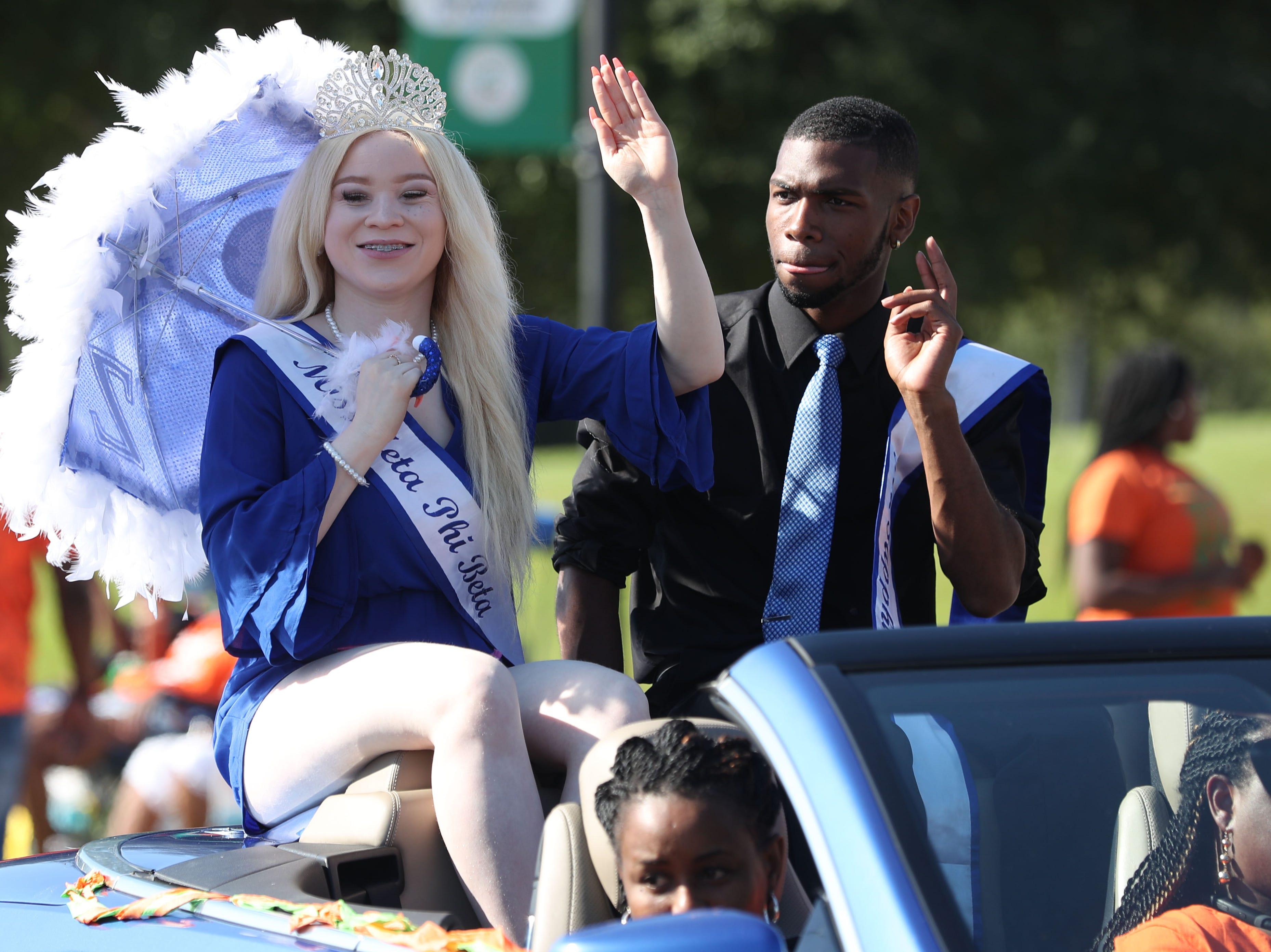 Florida A&M hosts a homecoming parade Saturday, Oct. 6, 2018.