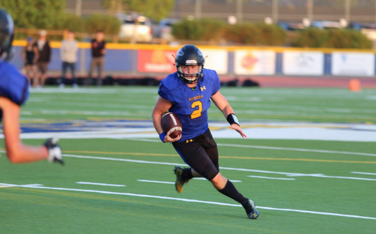 Quarterback Trent Butler and Agoura play at Arcadia in a first-round game Friday night.