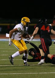 Drake London proved to be a team-first player on the football field and the basketball court during a remarkable high school career at Moorpark High.