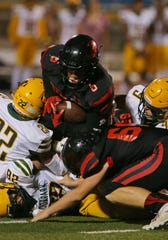 Grace Brethren's Lontrelle Diggs is second in Ventura County in both rushing (1,304 yards) and scoring (122 points).