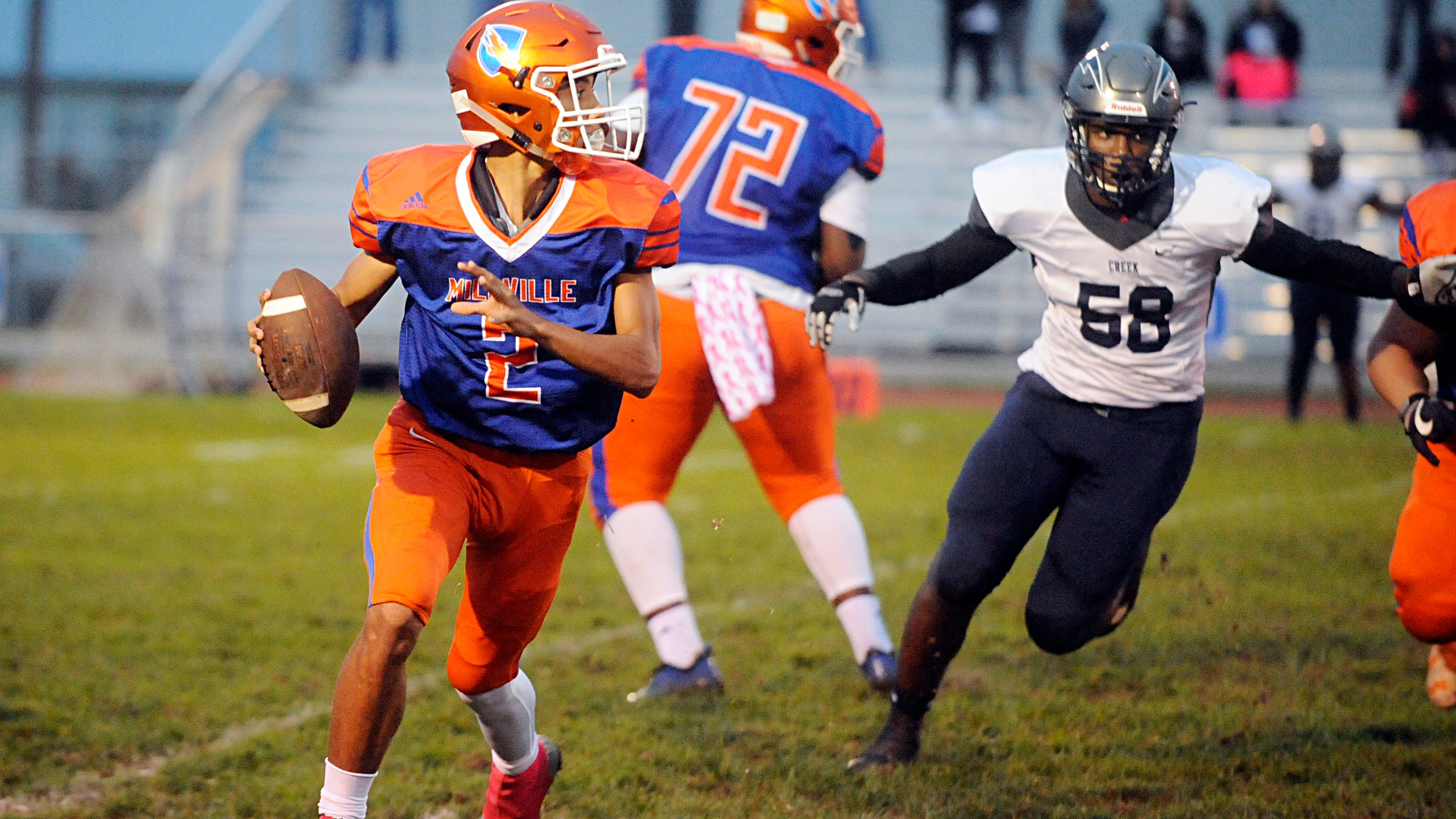 South Jersey Football Millville S Eddie Jamison Is Player Of The Week