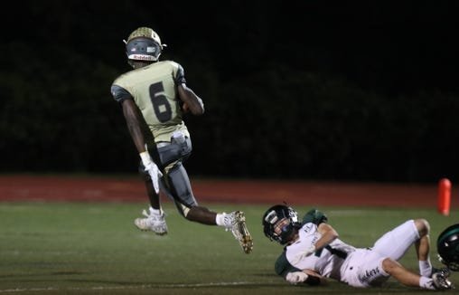 Clarkstown South football won 27-7 over Yorktown at Clarkstown South Oct. 5, 2018.