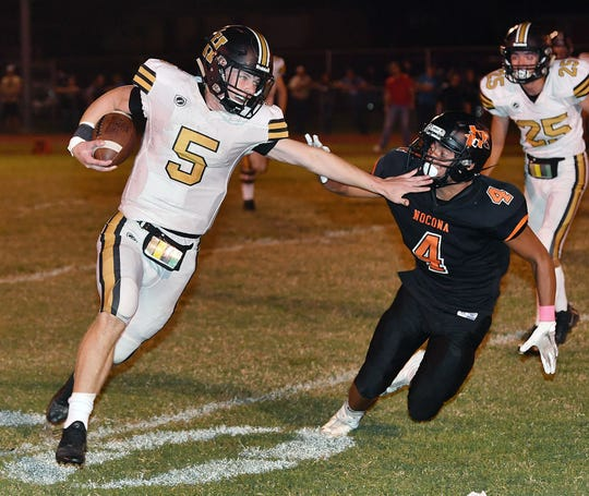 Henrietta quarterback Jonah Lyde finished his junior season strong with three of his nine TD passes coming in the playoffs.