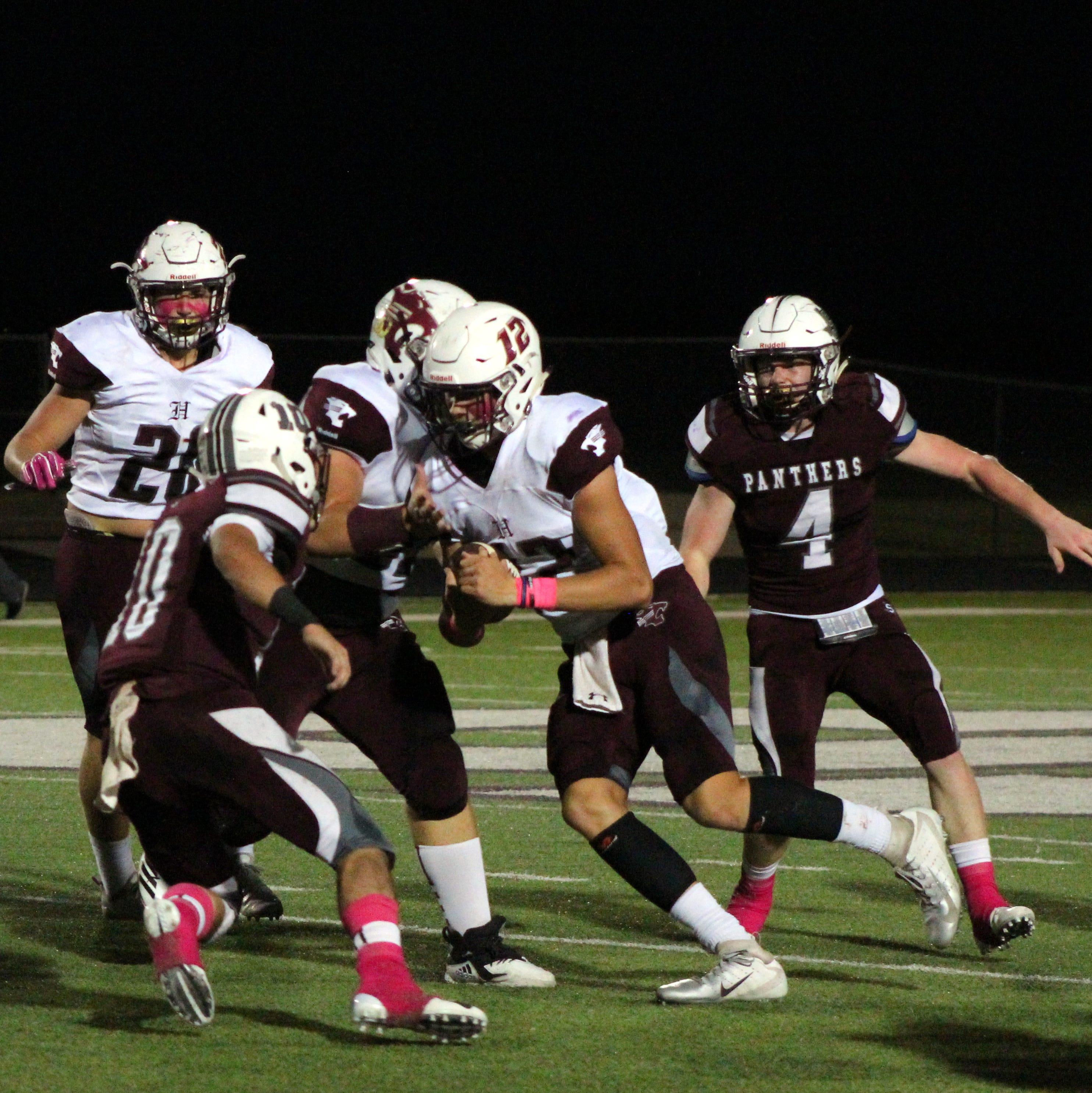 Texas High School Football Scores Oct. 4-6