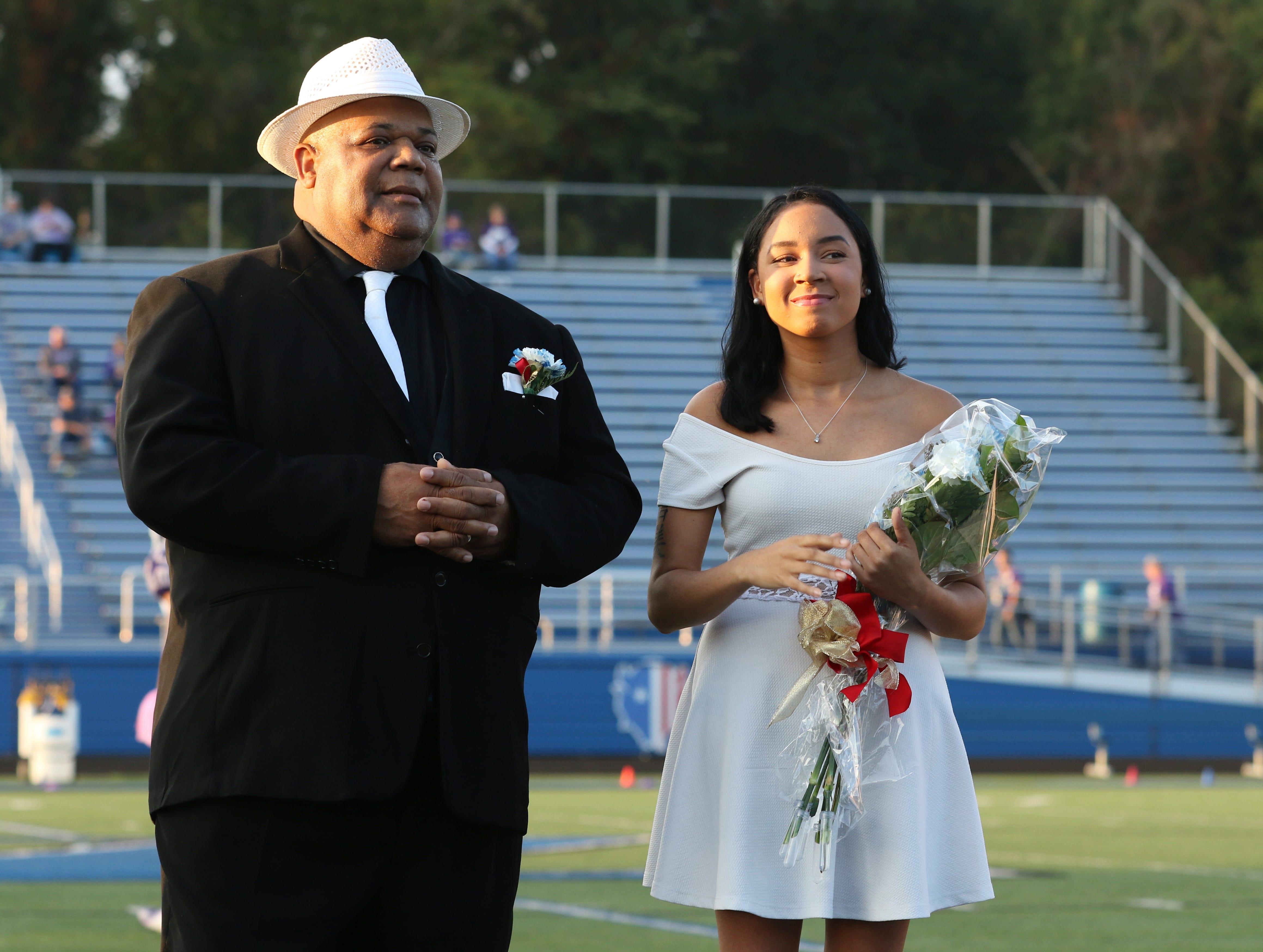 Shalen Johnson was named Zanesville High School homecoming queen.