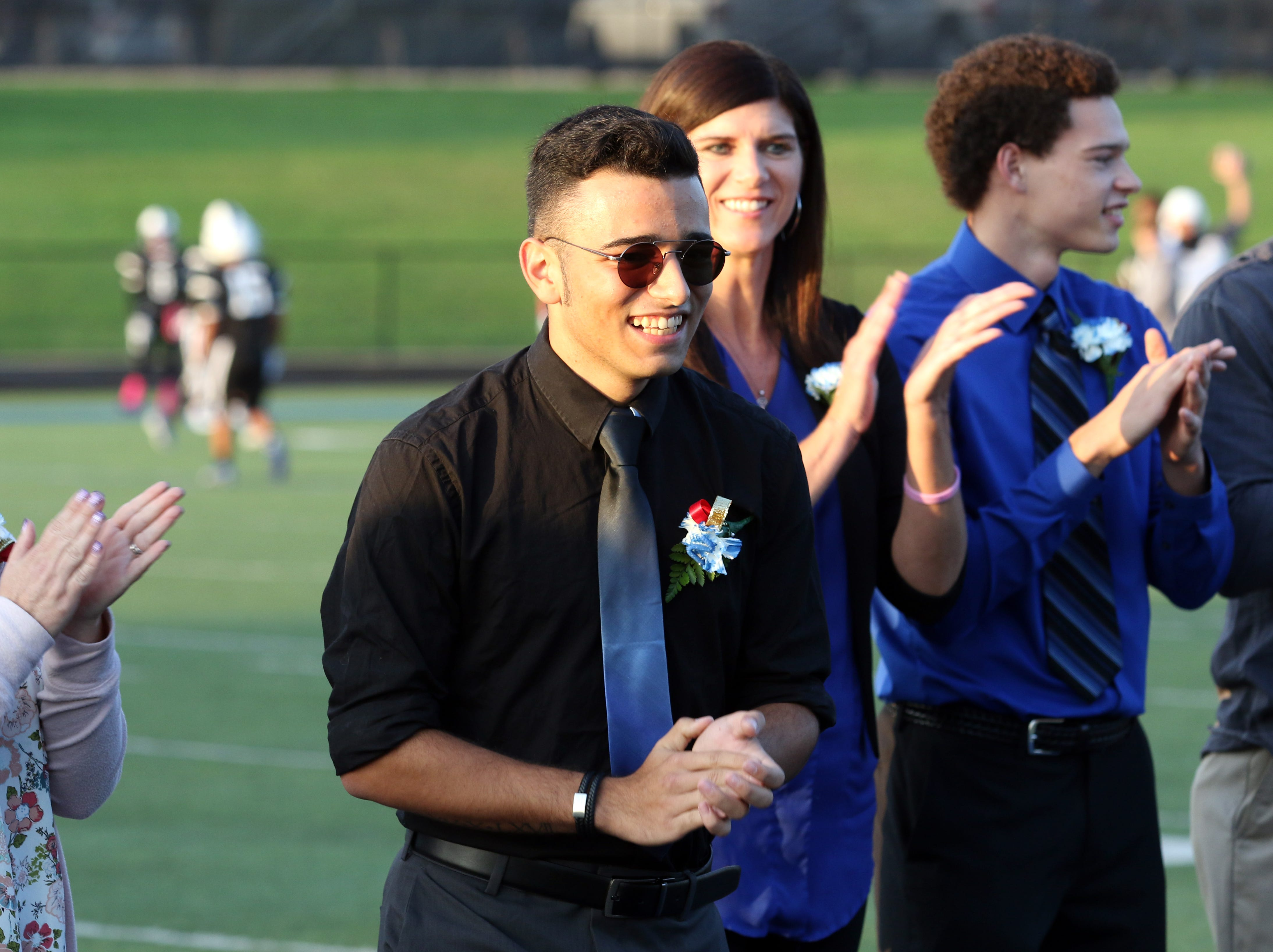 Berke Kizilcan was named Zanesville High School homecoming king.