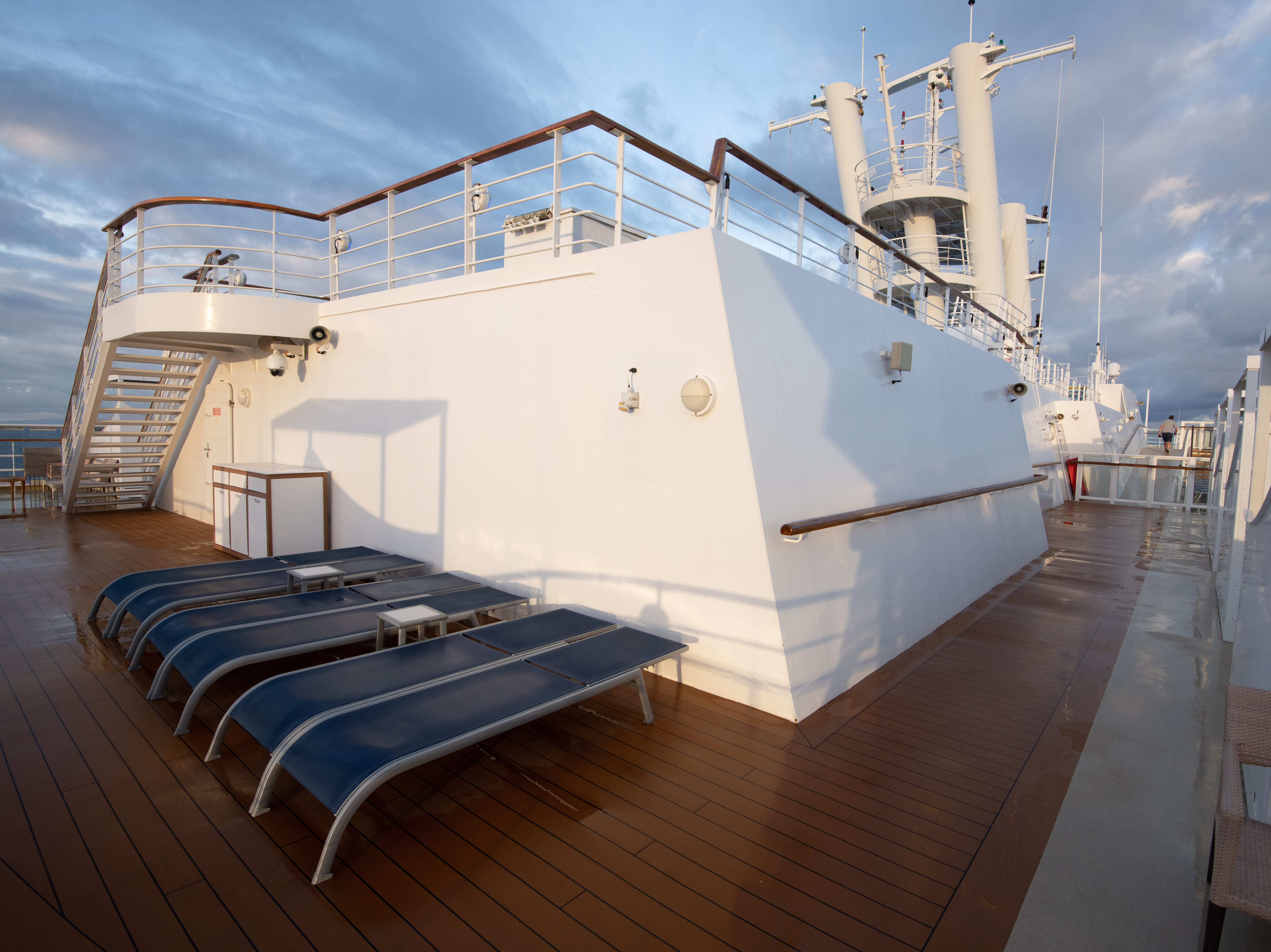 Seating on Deck 14.