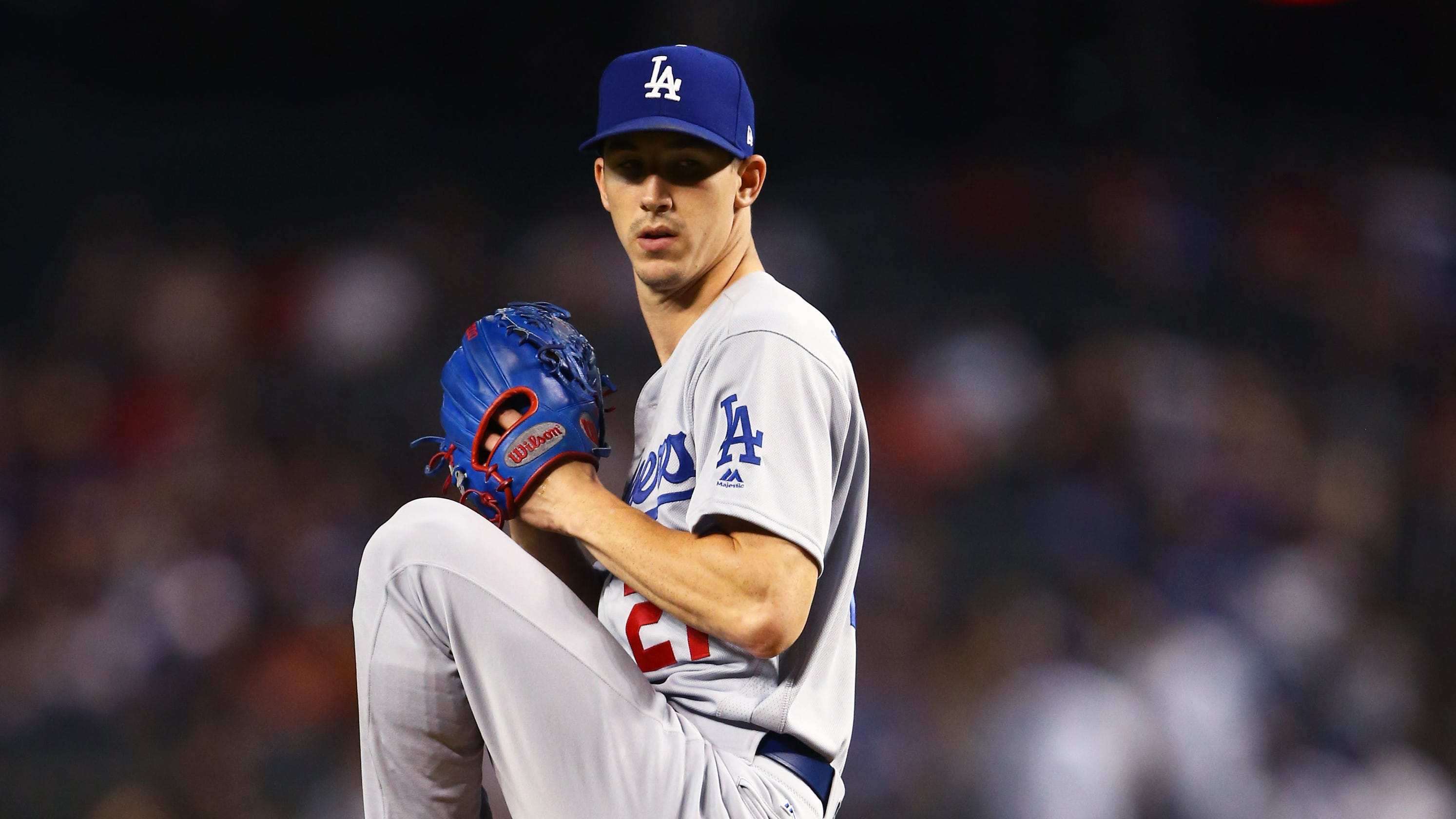 Rookie Walker Buehler has chance to make Dodgers virtually unbeatable in  MLB playoffs 5f31b6ec8a7