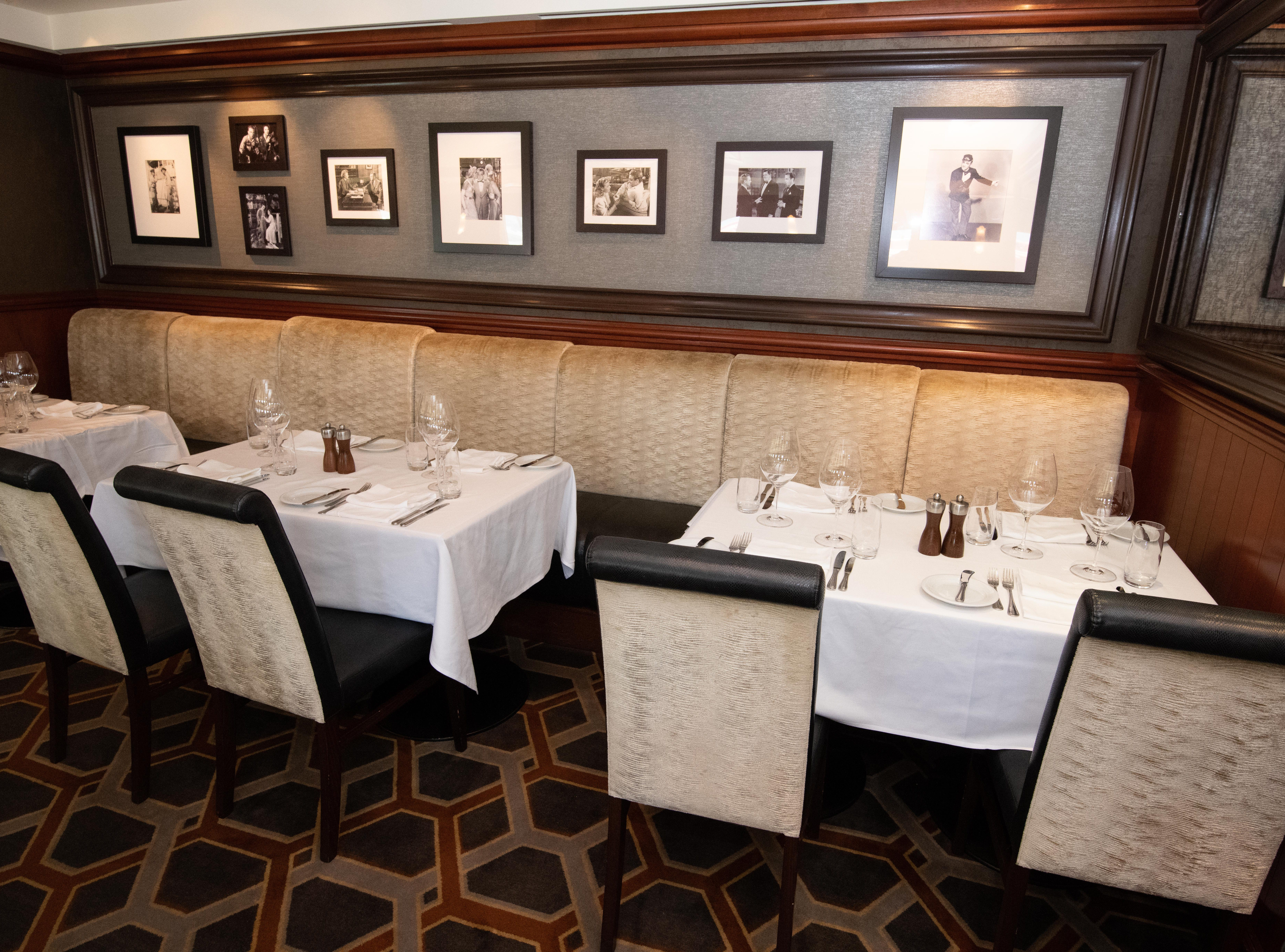 Located on Deck 6, Cagney's can seat up to 119 people and is open for dinner only. It's priced a la carte.