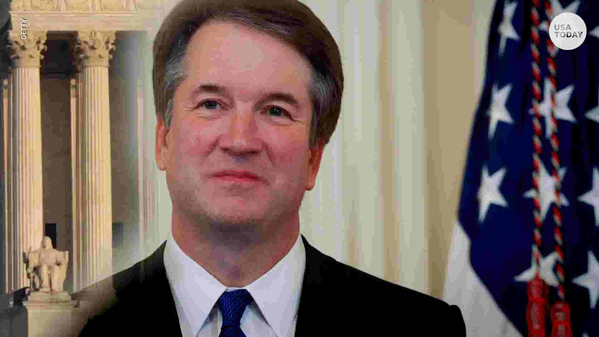 3935f2e8 Brett Kavanaugh sworn in as Supreme Court justice, cementing conservative  control