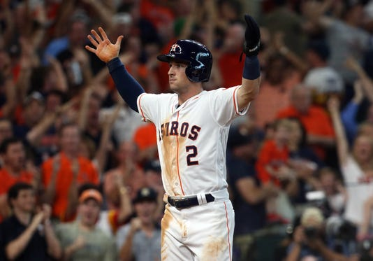 new concept b902c e2c2d MLB playoffs: Astros win Game 2 of ALDS after Indians ...