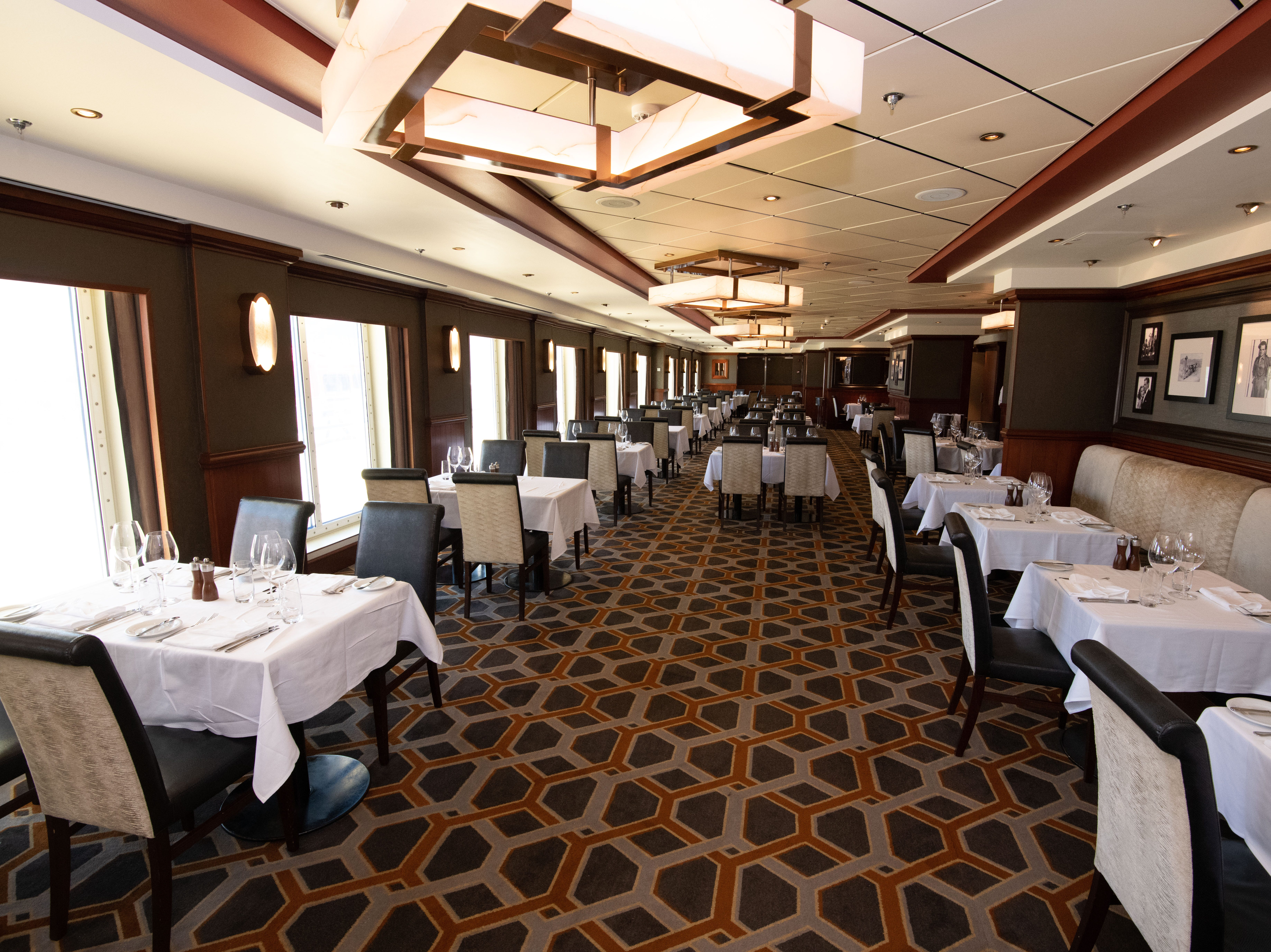 Cagney's is best known for ribeye, New York Strip and other steak cuts ranging in price from $16 to $20.
