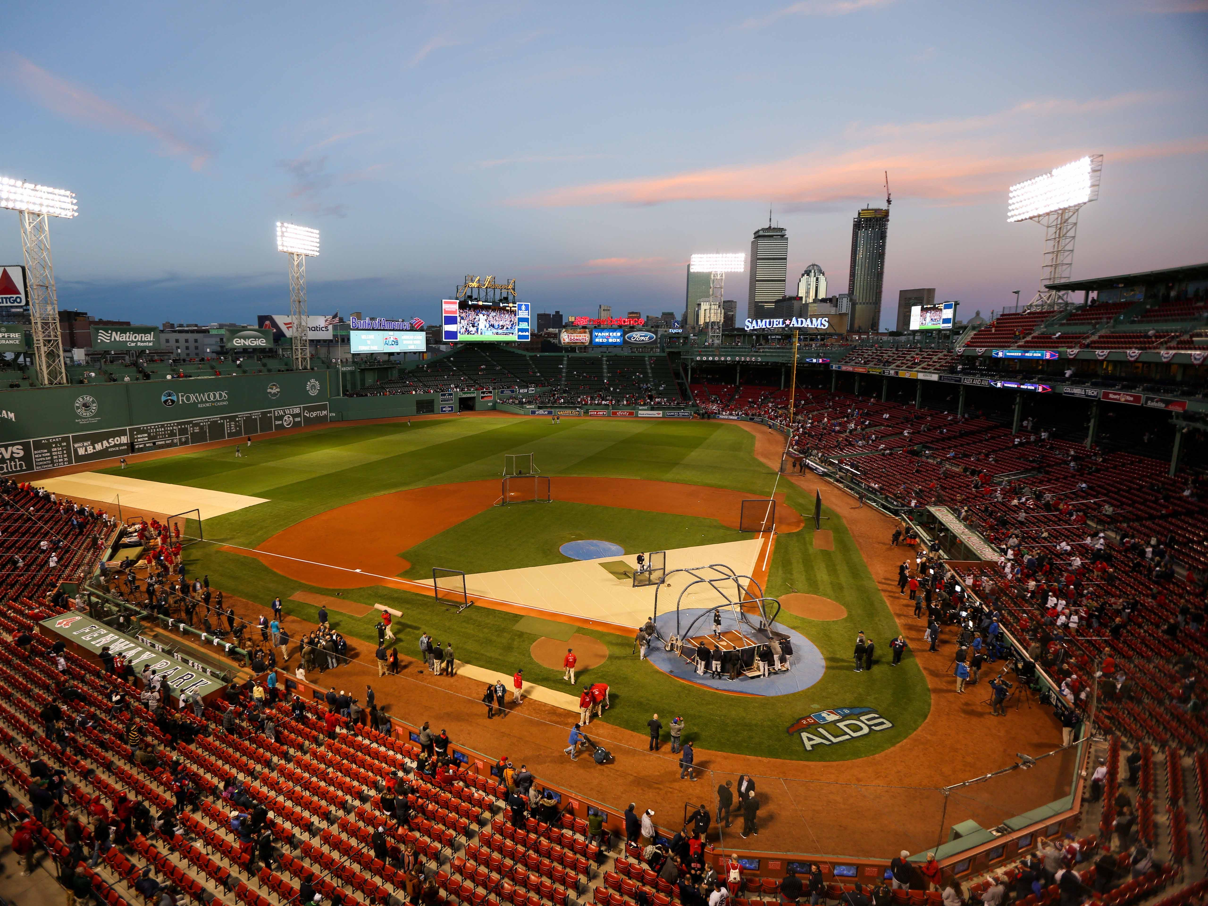 ALDS Game 1: Fenway Park, home of the Red Sox.