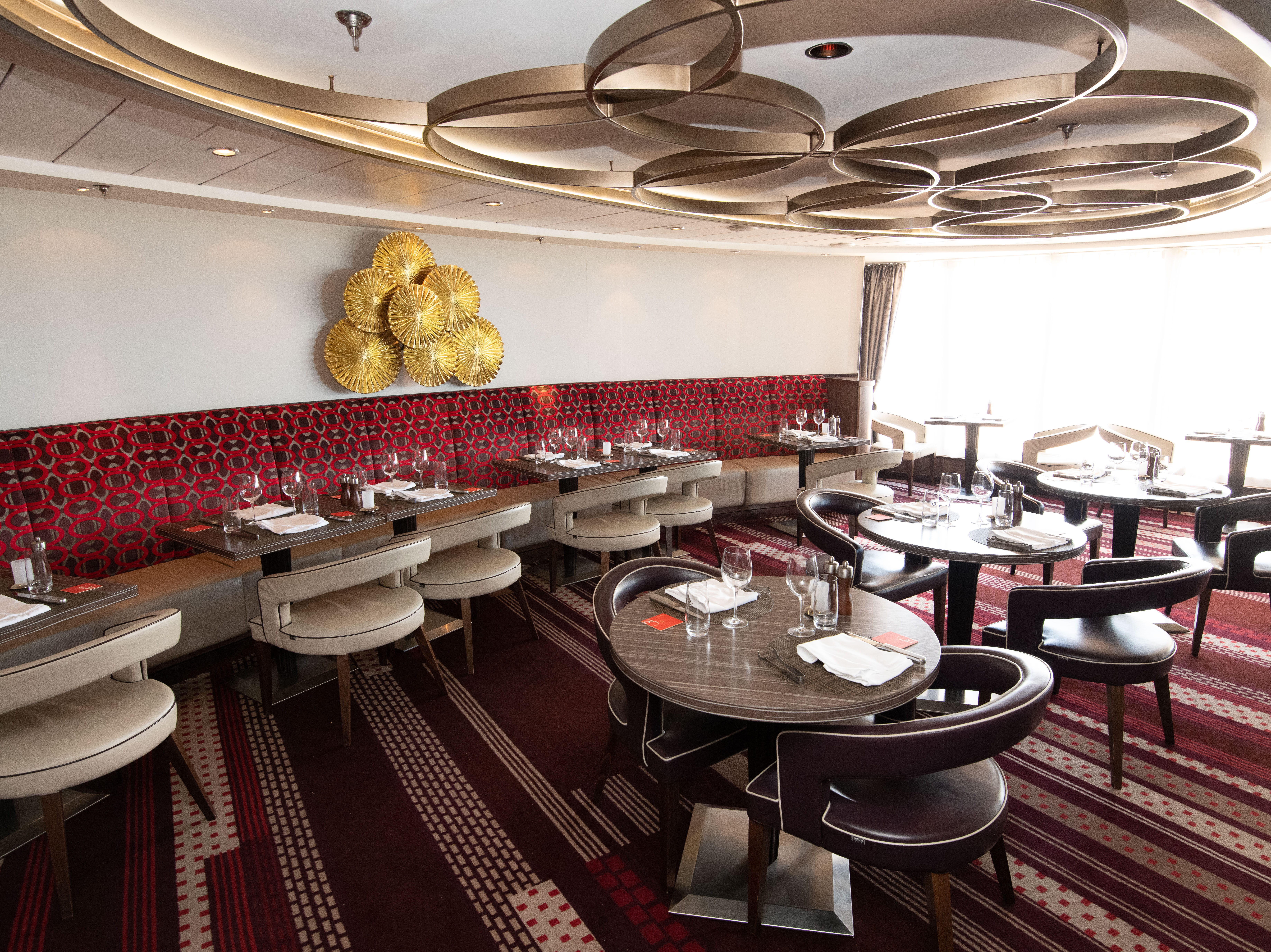 """Moderno Churrascaria offers slow-roasted meats including beef, pork, lamb and chicken – all carved tableside by roving """"pasadores."""""""