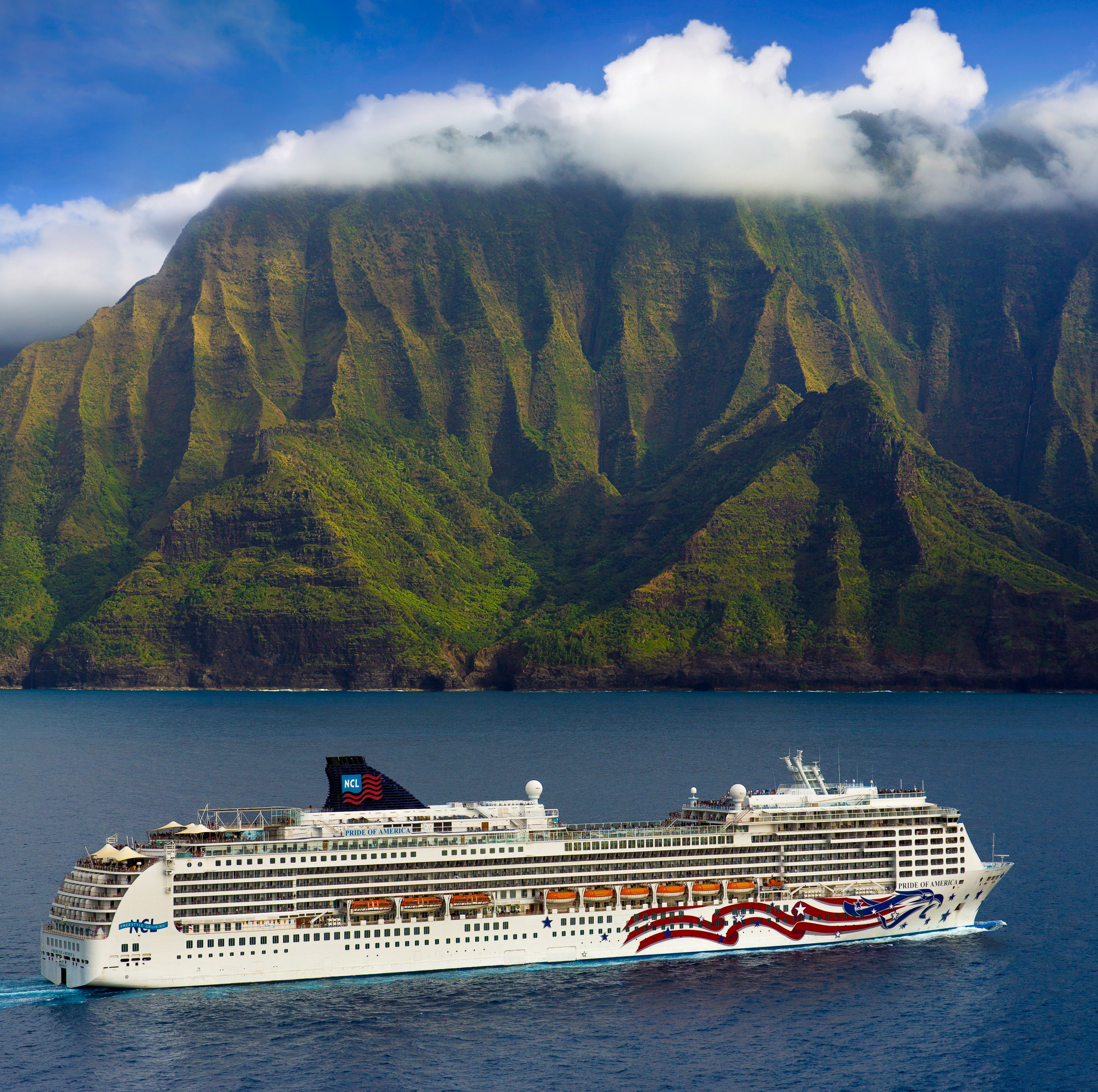 Based in Honolulu on the island of Oahu, Pride of America departs every Saturday on seven-night voyages to the islands of Maui, Hawaii and Kauai. It's a unique itinerary that is offered by no other line.