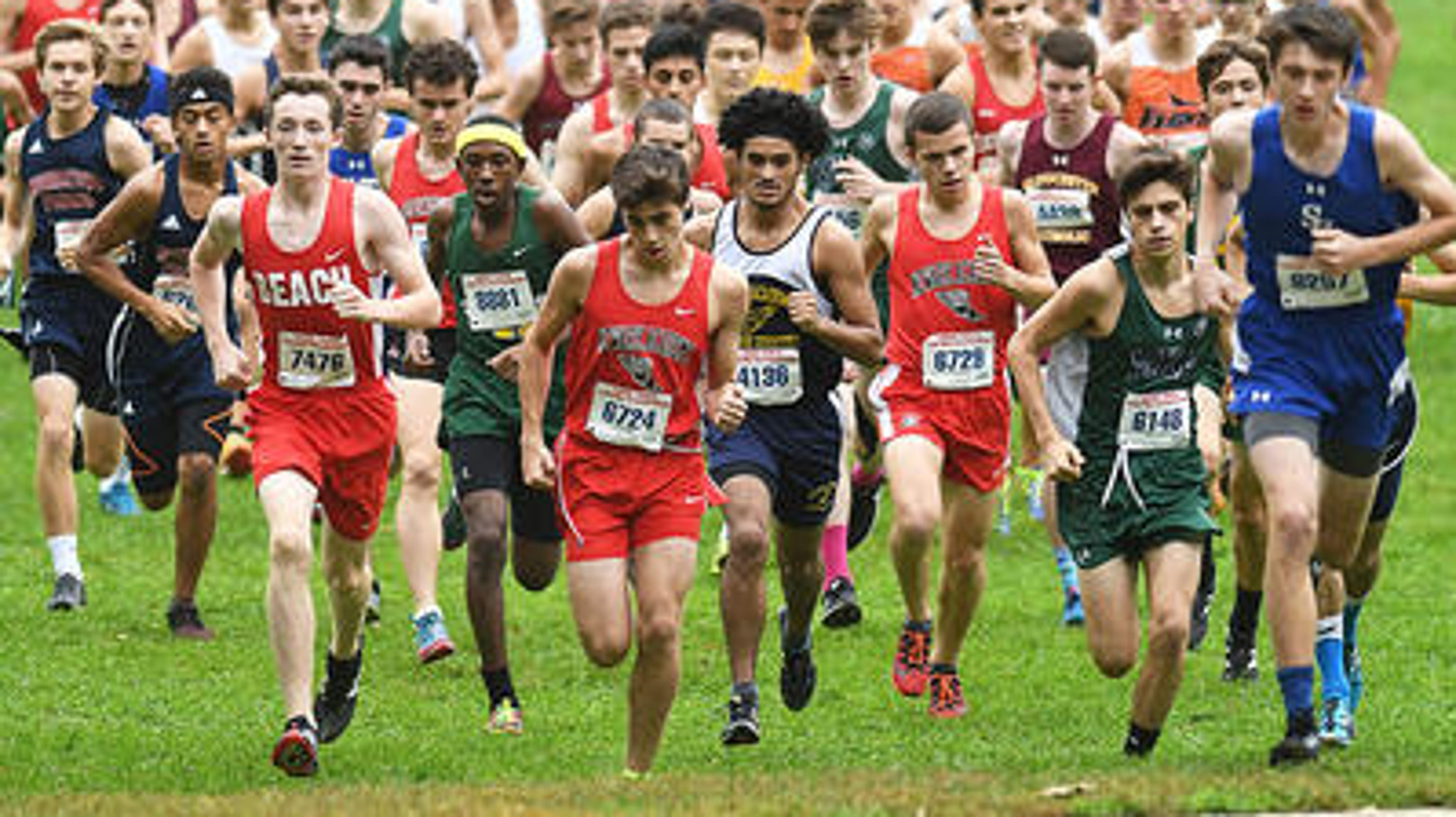 NJ high school cross country: 4,500 compete at Shore Coaches Meet at Holmdel