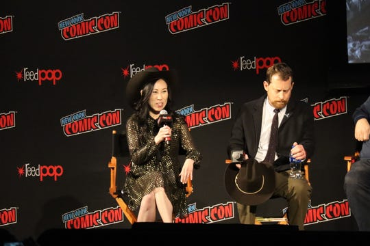 """New """"The Walking Dead"""" showrunner, Angela Kang talks about the upcoming ninth season of the show."""