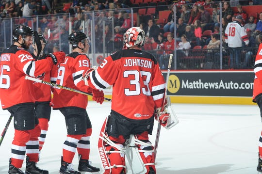 The Binghamton Devils opened their Friday night against the Toronto Marlies at the Floyd L. Maines Veterans Memorial Arena.