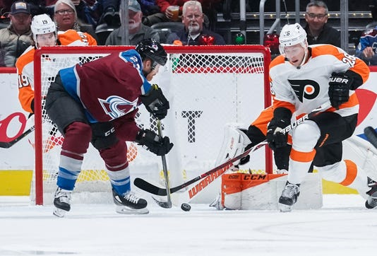 Nhl Philadelphia Flyers At Colorado Avalanche