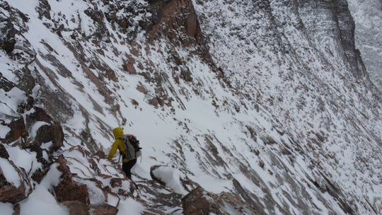 Search teams continued an effort Sunday to find Ryan Albert, 30, of Marlton, who was reported missing on Longs Peak in Colorado.