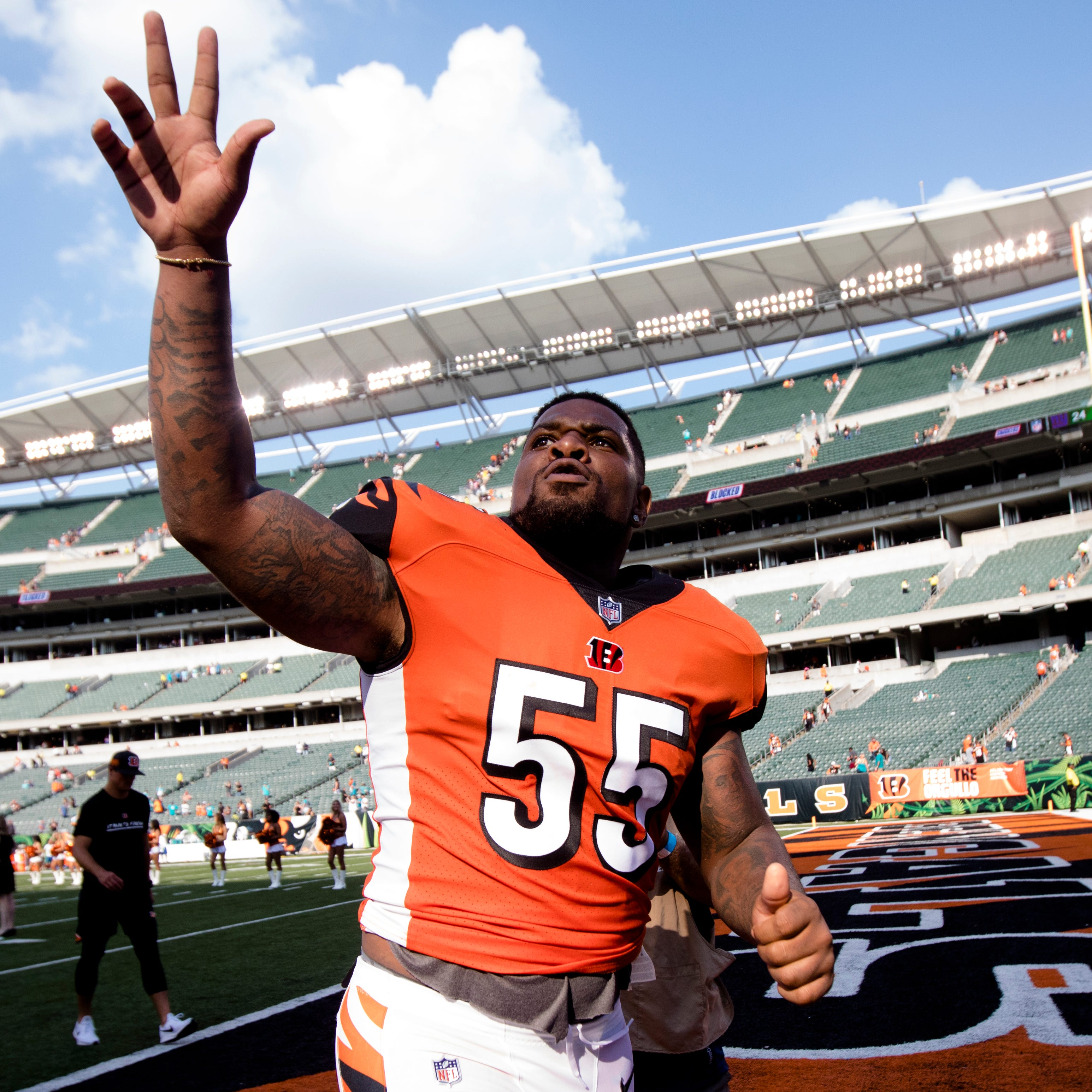Cincinnati Bengals cut linebacker Vontaze Burfict after seven seasons