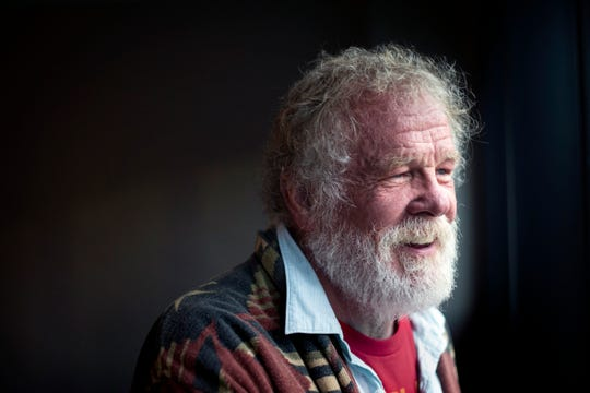 Actor, producer, and author Nick Nolte stands for a portrait before the Des Moines Public Library's Foundation 2018 IAD benefit at the Hilton Friday, Oct. 5, 2018.