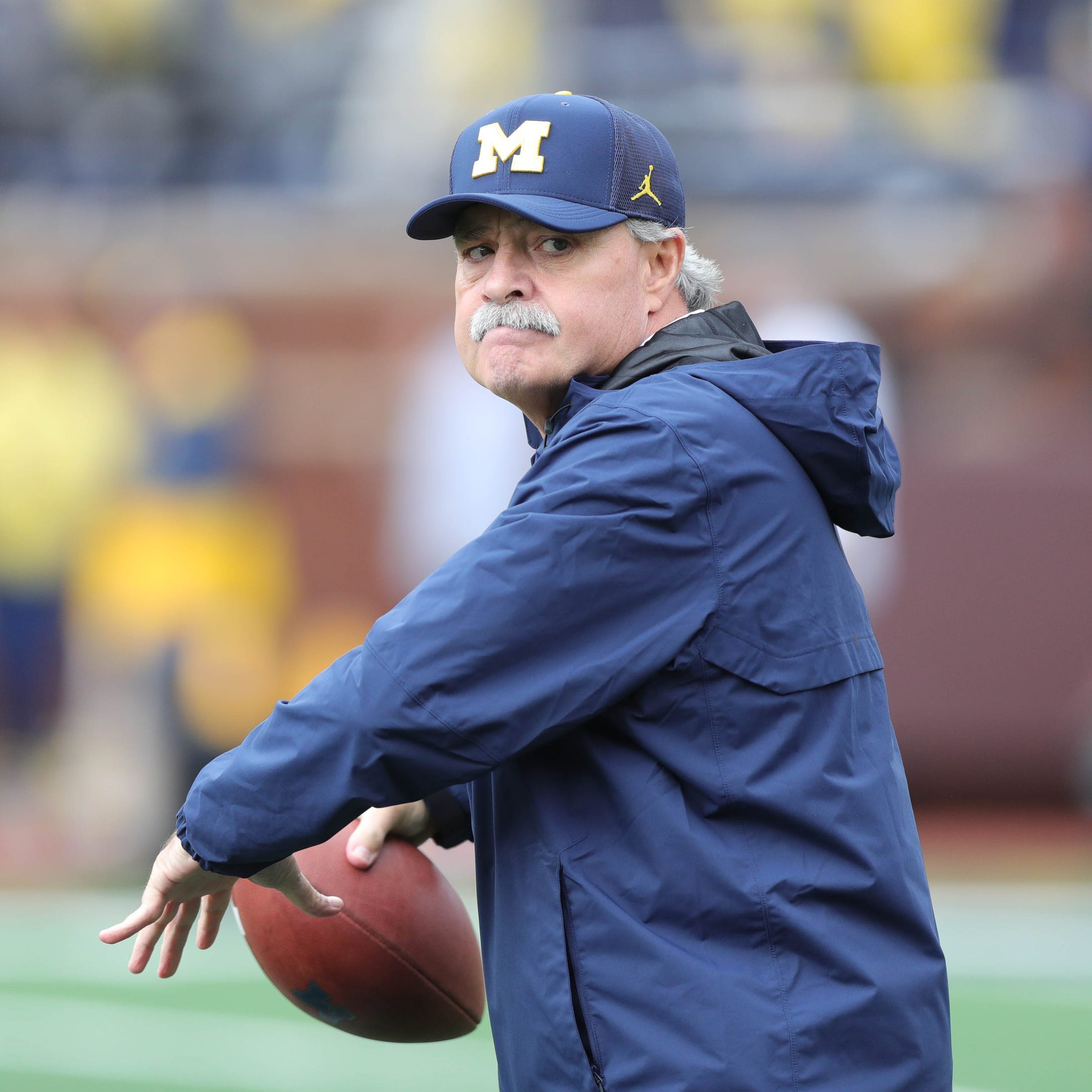 Michigan's new LBs coach studies U-M defense, likes 'violence' of unit