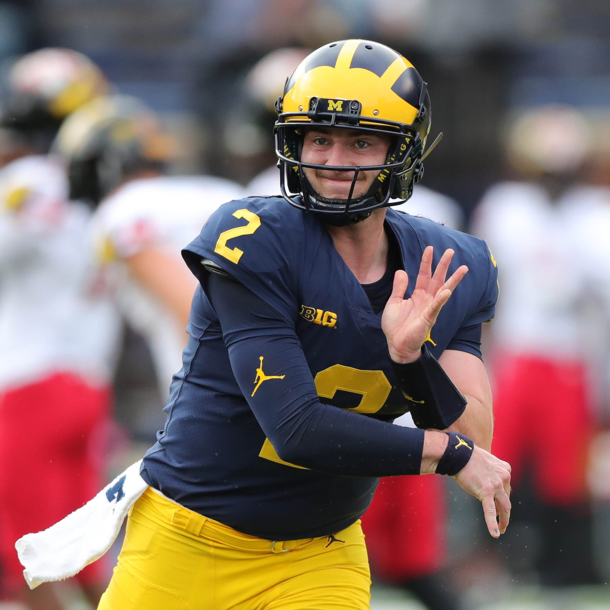 Michigan football QB Shea Patterson should stay in school | Opinion