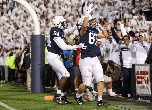 Ncaa Football Ohio State At Penn State