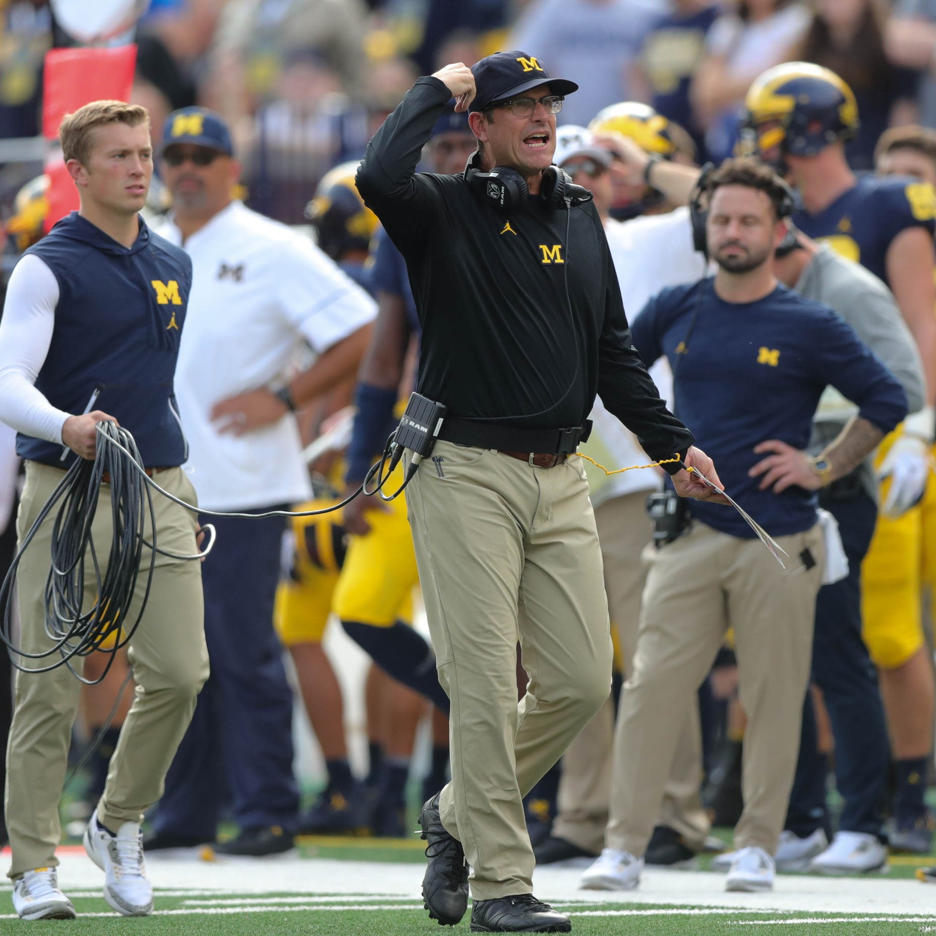 Jim Harbaugh: Michigan-Ohio State biggest day in 'our football lives'