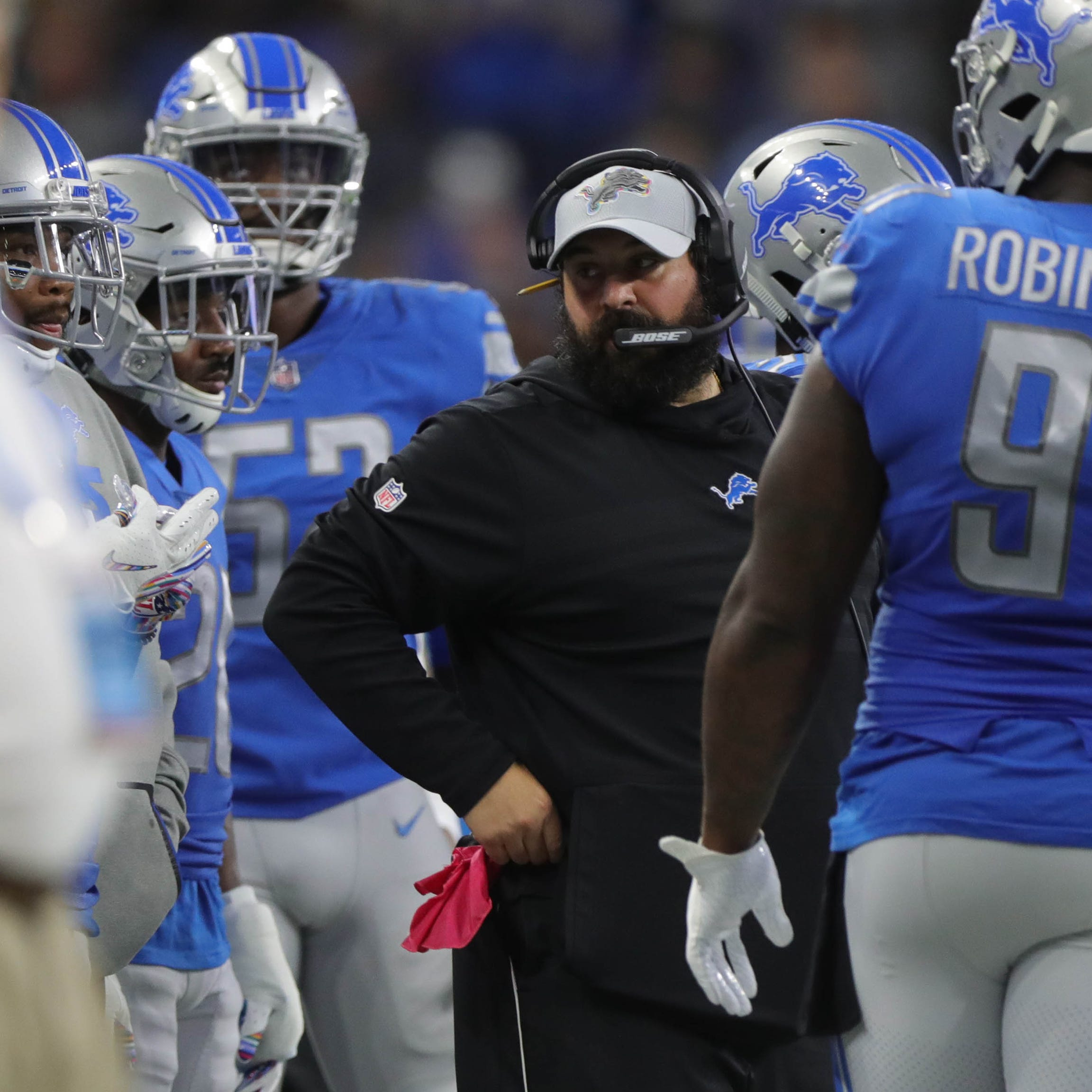 History says Matt Patricia-led Detroit Lions in for fight vs. Dolphins