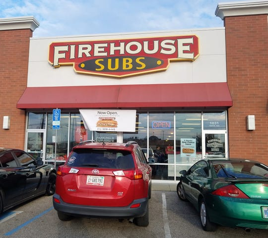 A Firehouse Subs in Evansville, Indiana
