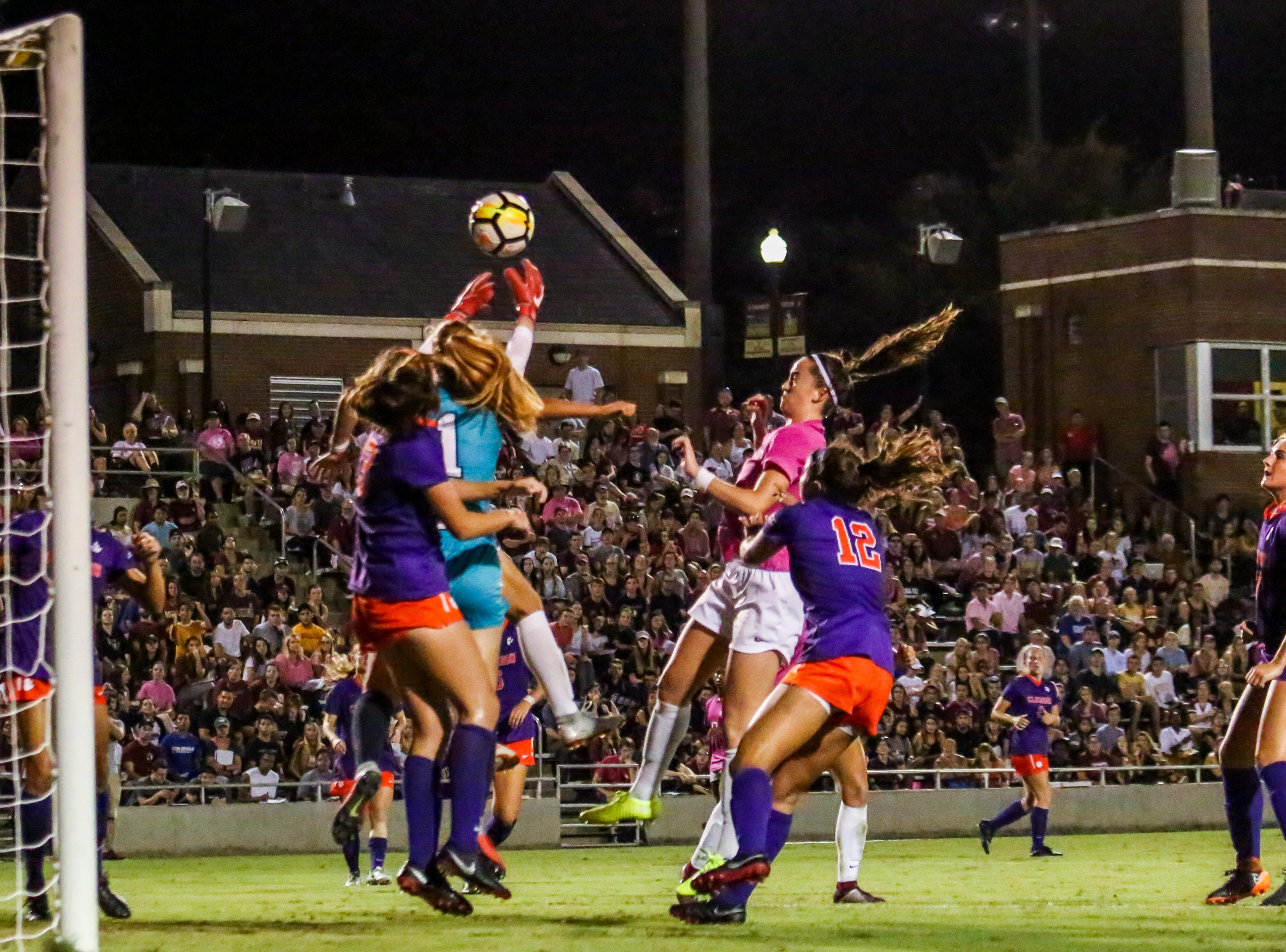 On numerous occasions, the FSU Women's Soccer team were inches away from scoring but couldn't convert their chances on Thursday, October 4th at the Seminole Soccer Complex.