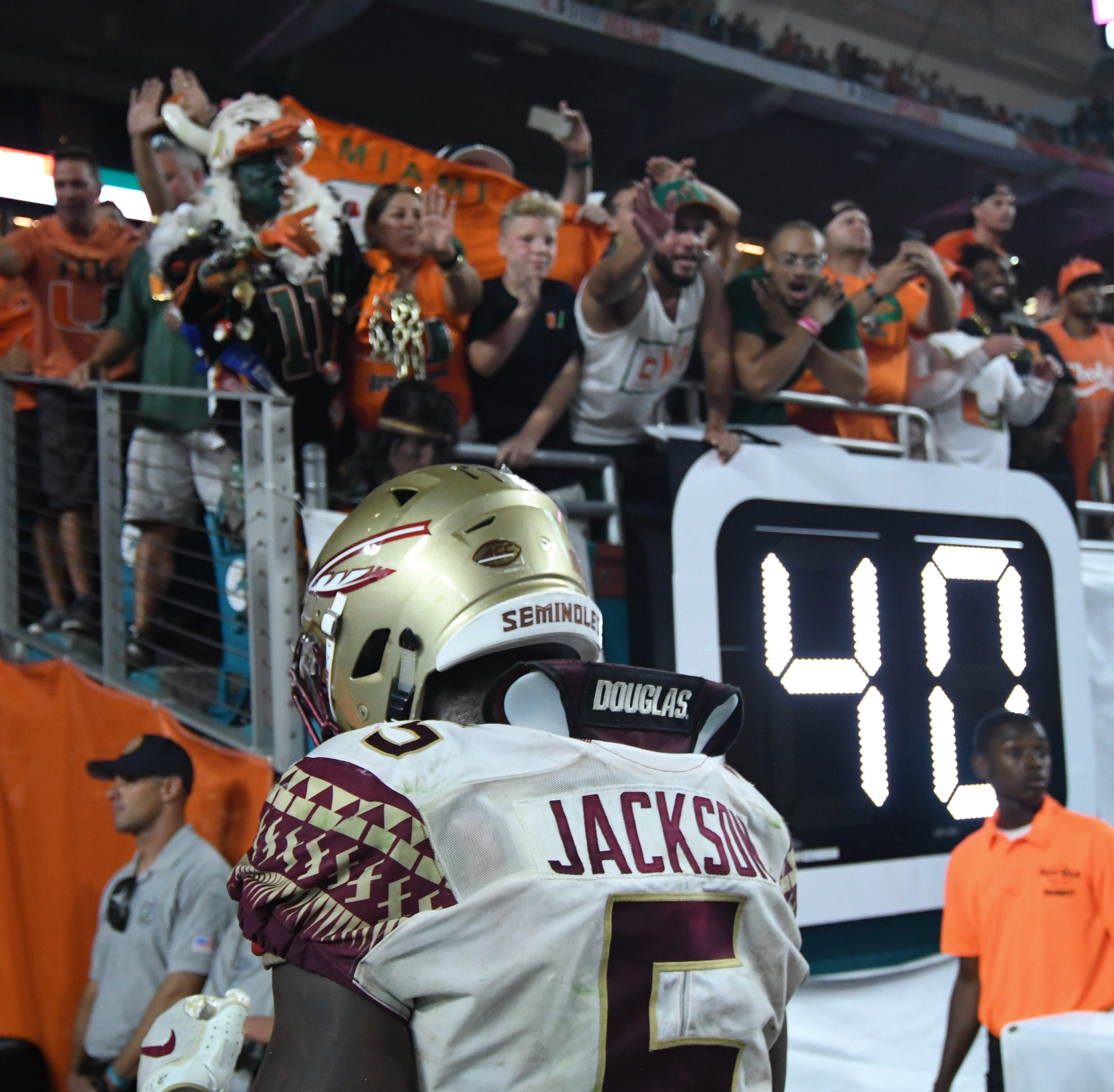Florida State falls flat in second half against Miami