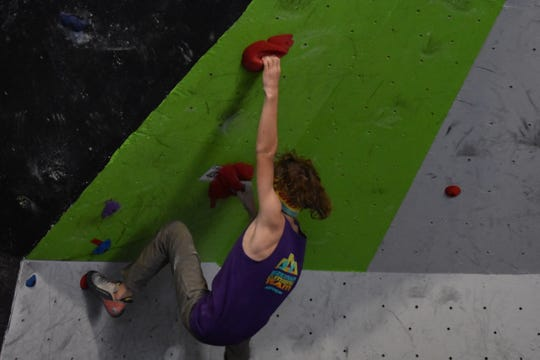 Competitors of all ages showed amazing athleticism at a competition Saturday at the Hi-Line Climbing Center in Great Falls.