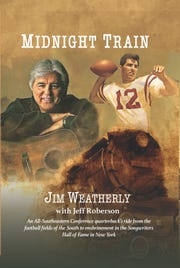 "Former Ole Miss quarterback and songwriter Jim Weatherly will release his new book, written with Jeff Roberson, on Oct. 18.  A native of Pontotoc, Weatherly is known best for writing ""Midnight Train to Georgia"" and other Gladys Knight hits."