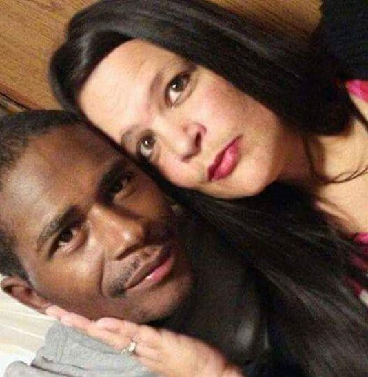 Stanley Hoskins and his wife, Erica