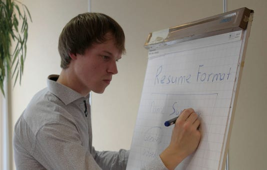 Wouter Lenting explains how to write an effective resume