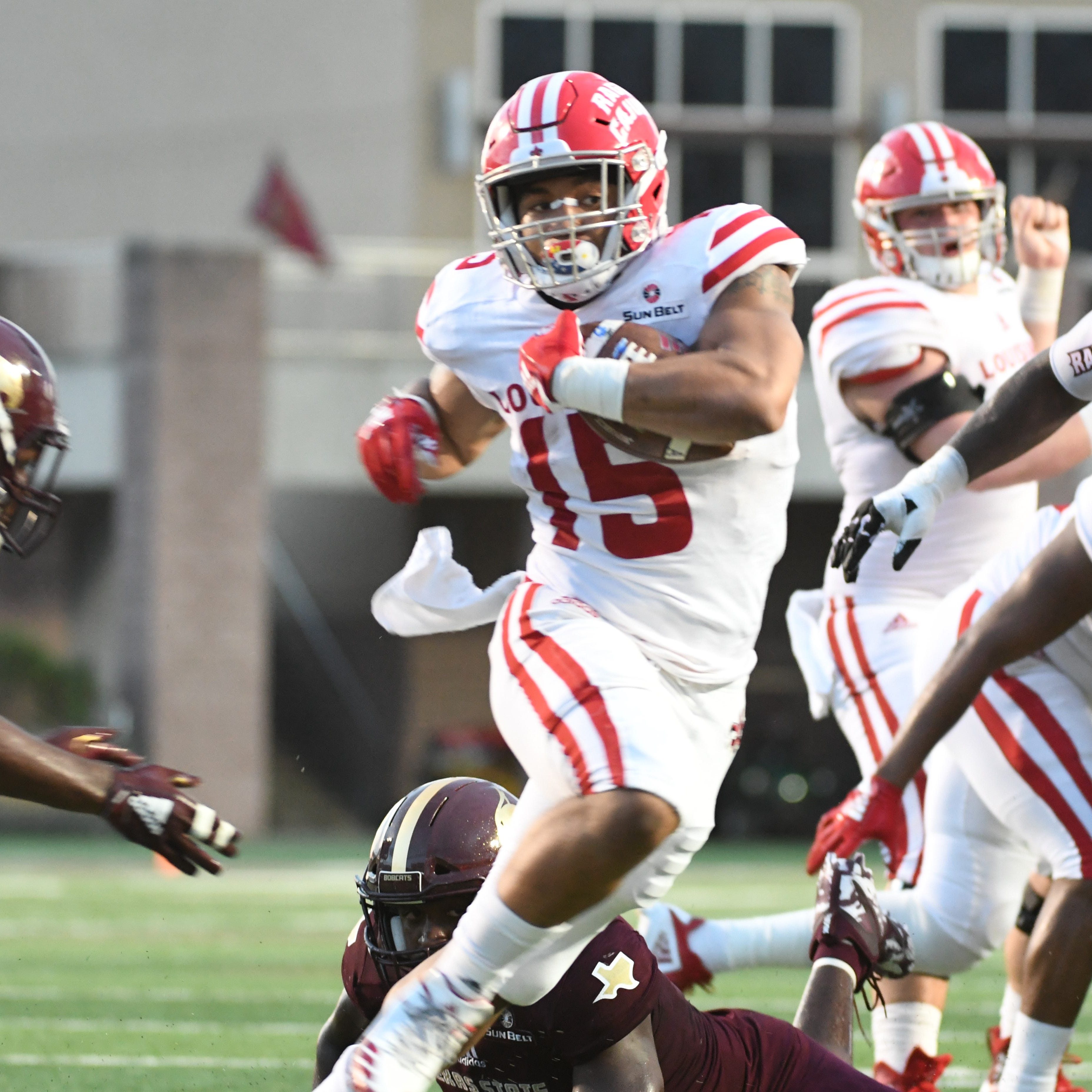 Napier: 'Three-headed monster' needs to allow Cajuns defense to catch its breath