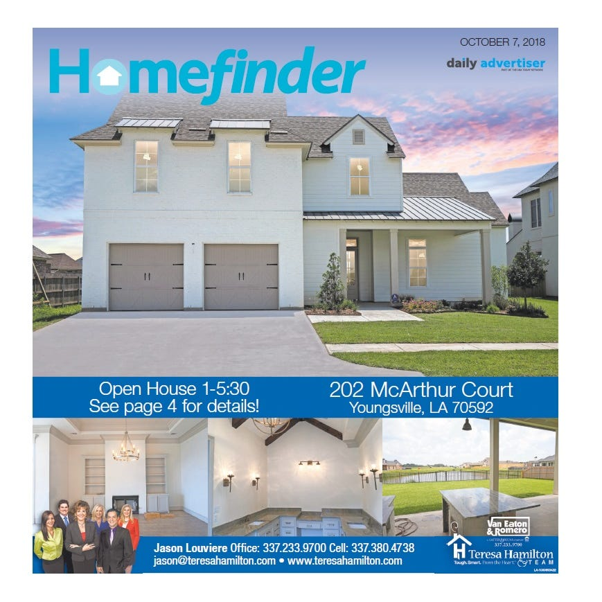 Homefinder: Oct. 7, 2018