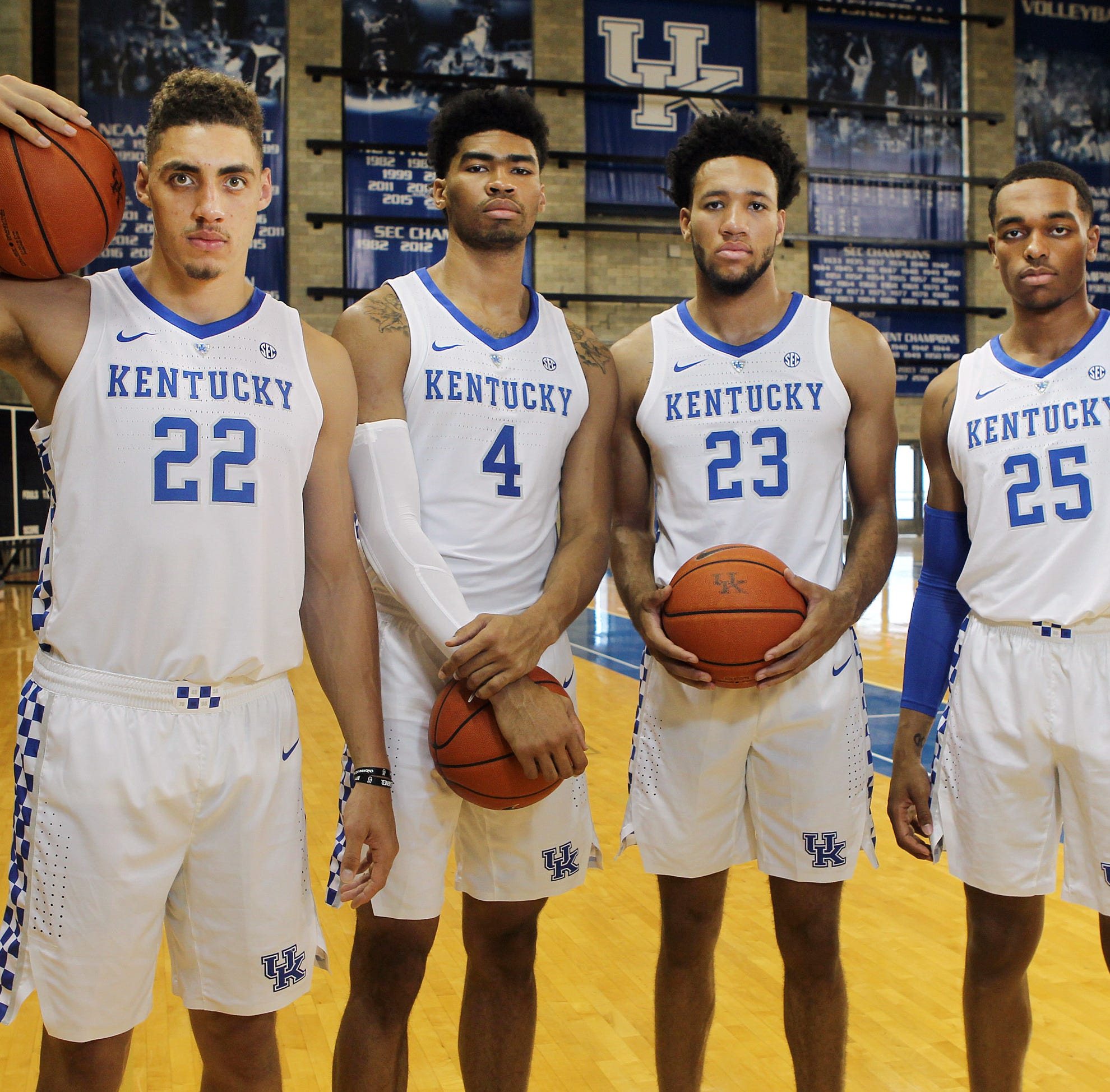 How John Calipari kept adding big men to Kentucky basketball's roster