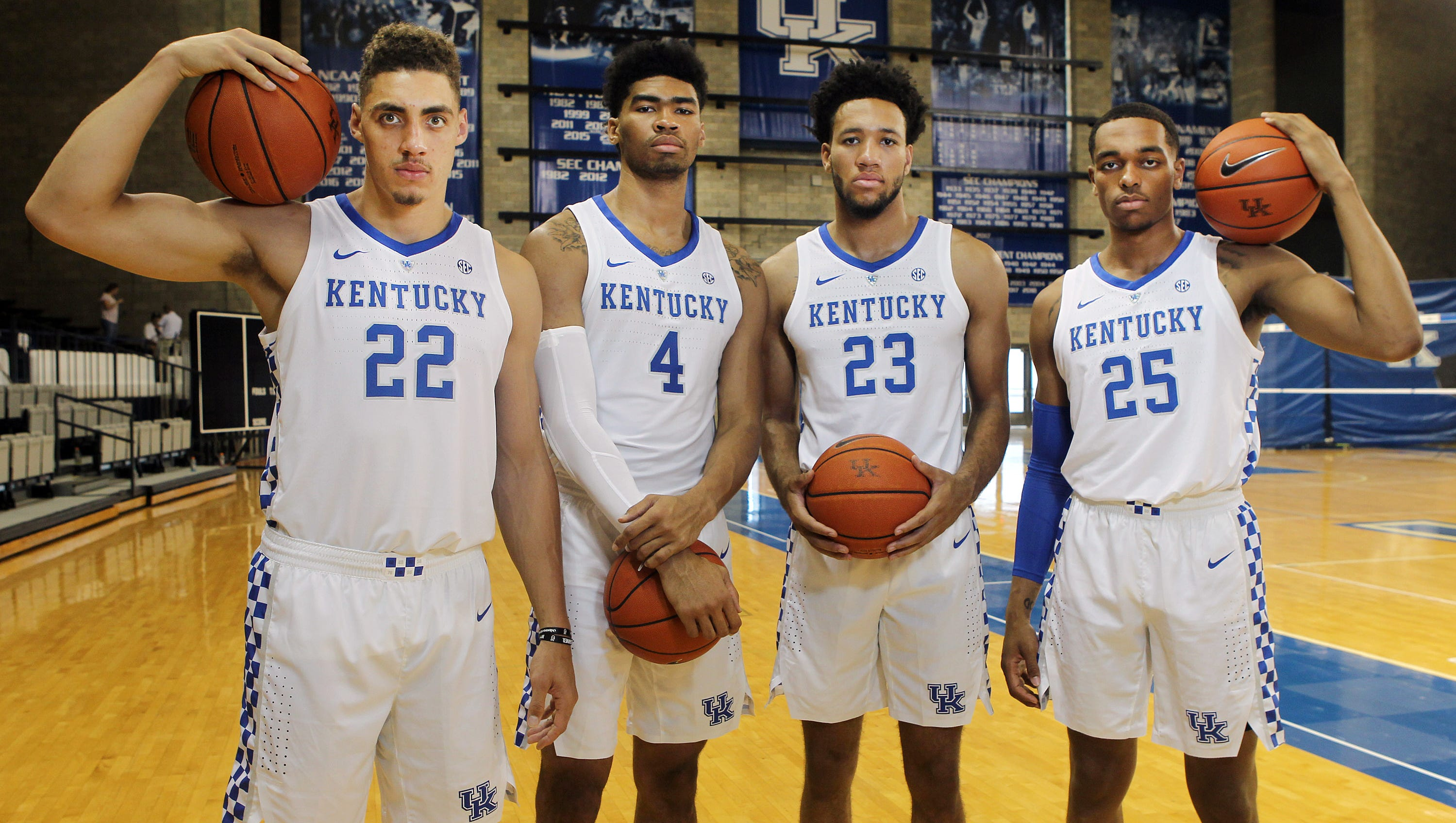 Kentucky Basketball 2018-19 Photo Day