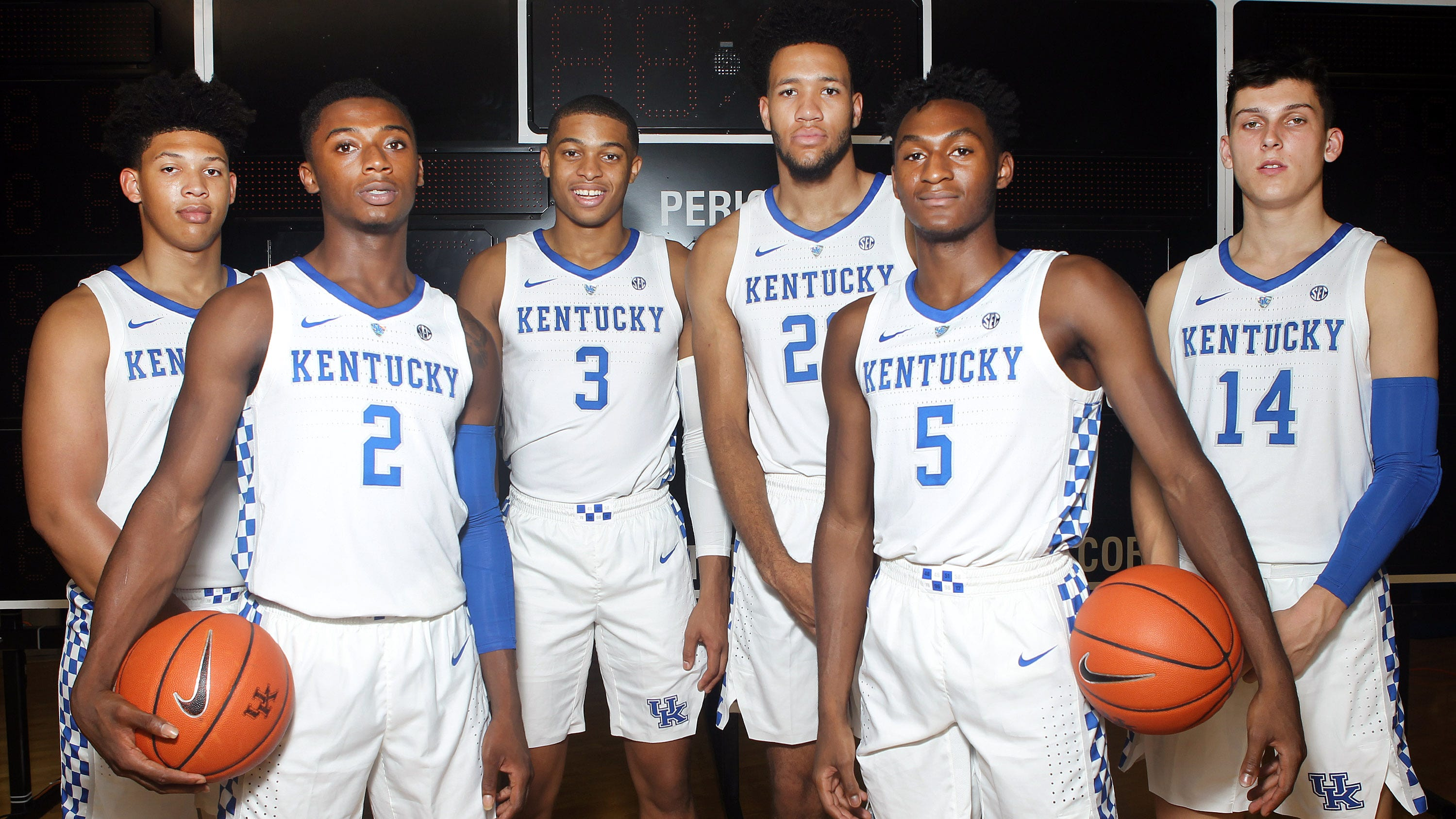 Kentucky Wildcats Basketball 2018 Sec Matchups Revealed: Kentucky Basketball: Freshmen Eager For Matchup With Duke
