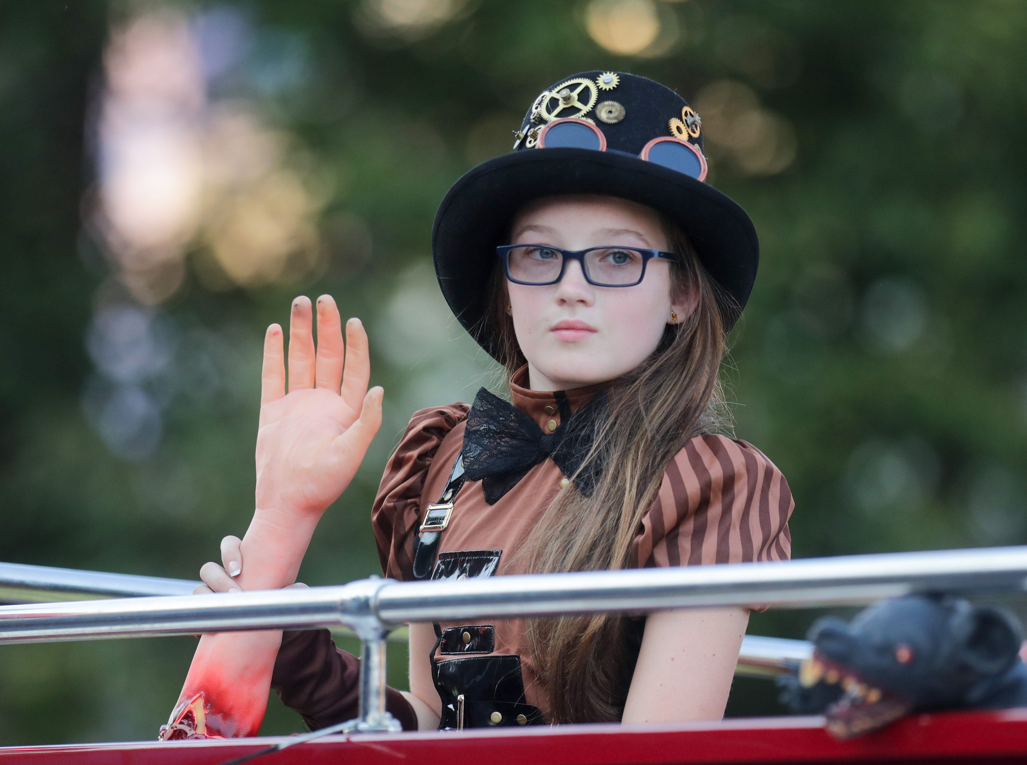 Scenes from the 2018 Halloween Parade & Festival. 