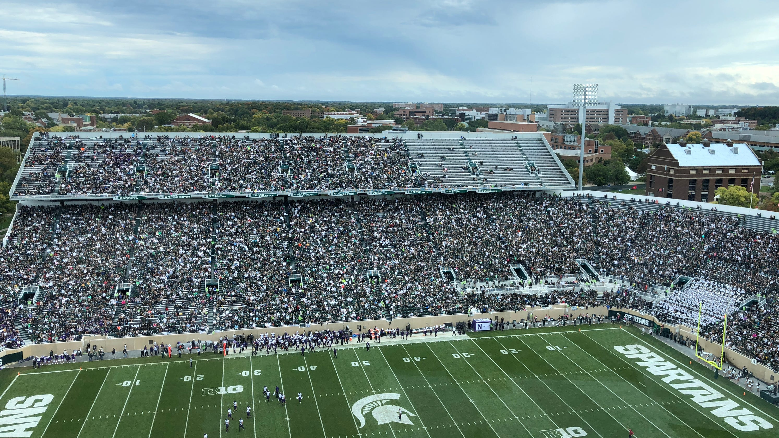 Msu Football Made Up Mailbag Student Sections And Bowl